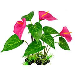 Διακόσμηση Ενυδρείου Υδρόβιο φυτό Ρητίνη Ύφασμα