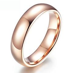 お買い得  指輪-女性用 キュービックジルコニア シンプル ゴールドメッキ ジュエリー カジュアル ストリート