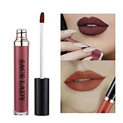 Lipgloss Lipsticks Mat Vloeistof Gekleurde Lipgloss Vochtigheid Slijtvast Naturel waterdicht 1