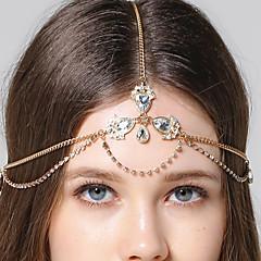 239151c3b26 levne Ozdoby do vlasů-Head Chain Stříbrná Svatební Večírek Jdeme ven