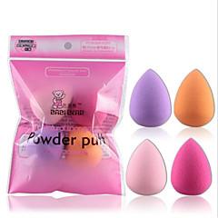 4 stk Poederdons/Cosmeticaspons Drop Shape Dames