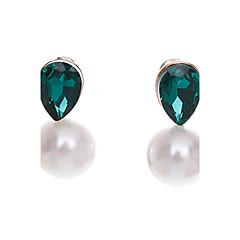 preiswerte Ohrringe-Damen Ohrstecker Grundlegend Künstliche Perle Aleación Ovale Form Schmuck Für Party