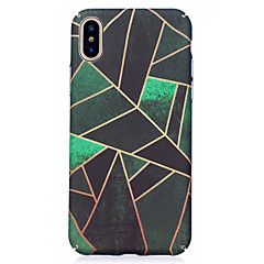 For iPhone X iPhone 8 Case Cover Pattern Back Cover Case Geometric Pattern Hard PC for Apple iPhone X iPhone 8 Plus iPhone 8 iPhone 7