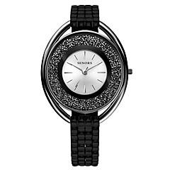 preiswerte Damenuhren-Damen Armbanduhr Japanisch Quartz 30 m Metall Band Analog Schwarz / Silber - Schwarz Silber