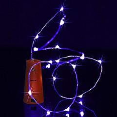 preiswerte LED Lichtstreifen-BRELONG® 1m Leuchtgirlanden 10 LEDs Warmes Weiß / Weiß / Blau Wasserfest <5 V 1pc