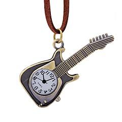 preiswerte Herrenuhren-Herrn Taschenuhr Chinesisch Armbanduhren für den Alltag Leder Band Elegant Braun