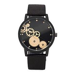 voordelige Dameshorloges-Heren Dames Unieke creatieve horloge Modieus horloge Sporthorloge Vrijetijdshorloge Chinees Kwarts Chronograaf Waterbestendig Punk Leer