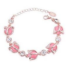 preiswerte Armbänder-Damen Armband - Opal Blume Klassisch, Modisch Armbänder Rosa Für Alltag
