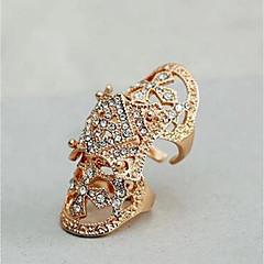 preiswerte Ringe-Herrn Stulpring - Diamantimitate Modisch, Erklärung, Panzer Verstellbar Gold / Silber Für Alltag