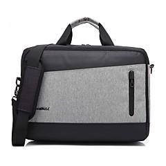 preiswerte Laptop Taschen-15,6 Zoll Mode britischen Stil mit USB Lade Port Laptop Umhängetasche Handtasche für Dell / hp / Sony / Acer / Lenovo etc
