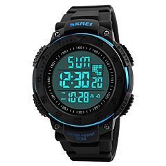 Men's Kid's Casual Watch Sport Watch Fashion Watch Chinese Digital Calendar / date / day Water Resistant / Water Proof Dual Time Zones