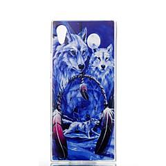 Недорогие Чехлы и кейсы для Sony-Кейс для Назначение Sony Sony Xperia XA Xperia XZ1 Xperia XA1 Ультратонкий С узором Кейс на заднюю панель Животное Мягкий ТПУ для Xperia
