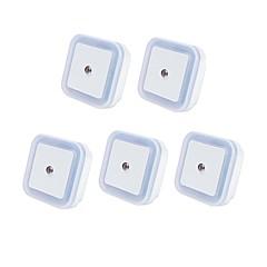 preiswerte Ausgefallene LED-Beleuchtung-5 Stück Steckdose Nachtlicht Smart / Lichtsteuerung / Nacht 100-240 V
