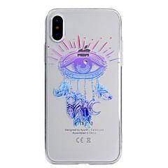 halpa iPhone 7 kotelot-Etui Käyttötarkoitus Apple iPhone X iPhone 8 Ultraohut Läpinäkyvä Kuvio Takakuori Uni sieppari Pehmeä TPU varten iPhone X iPhone 8 Plus