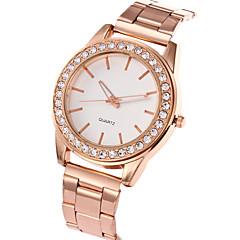 preiswerte Damenuhren-Damen Quartz Armbanduhr Cool / Armbanduhren für den Alltag Edelstahl Band Charme / Luxus / Freizeit / Elegant / Modisch Silber / Gold /