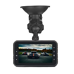 cheap Car Electronics-ZIQIAO JL-A80 1920 x 1080 / 1080x720 Car DVR 170 Degree Wide Angle CMOS 3inch TFT Dash Cam with Time Stamp / Delay Shutdown / HDR Car
