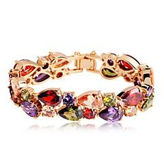 preiswerte Armbänder-Damen Armband - Zirkon Tropfen Klassisch, Böhmische, Boho Armbänder Regenbogen Für Verlobung Geschenk
