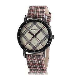 preiswerte Damenuhren-Damen Armbanduhren für den Alltag Modeuhr Armbanduhr Quartz Schwarz / Blau / Rot Armbanduhren für den Alltag Analog Freizeit Elegant - Braun Rot Blau / Edelstahl