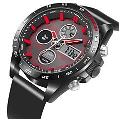 お買い得  大特価腕時計-男性用 / 女性用 リストウォッチ 日本産 カジュアルウォッチ PU バンド カジュアル ブラック