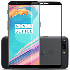 cheap Other Screen Protectors-Screen Protector OnePlus for OnePlus 5T Tempered Glass 1 pc Screen Protector Scratch Proof Explosion Proof 2.5D Curved edge 9H Hardness
