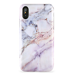 cheap iPhone 5c Cases-For iPhone X iPhone 8 Case Cover Pattern Back Cover Case Marble Soft TPU for Apple iPhone X iPhone 8 Plus iPhone 8 iPhone 7 Plus iPhone 7
