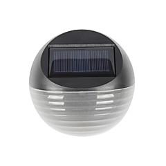 Χαμηλού Κόστους Εξωτερικές Άπλικες-1pc 0.5W Φώς τοίχου Ηλιακής Ενέργειας Αδιάβροχη Έλεγχος φωτισμού Διακοσμητικό Θερμό Λευκό Ψυχρό Λευκό Κήπος Αυλή Εξωτερικός Φωτισμός