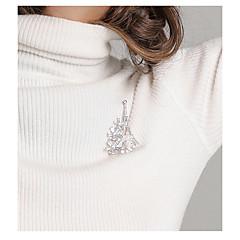 tanie Broszki-Damskie Broszki , Europejski Modny Stop Taper Shape Biżuteria Na Codzienny Praca