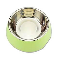 Gatto Cane Ciotole Animali domestici Ciotole e alimentazione Impermeabile Duraturo Verde Blu Rosa