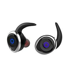 お買い得  ヘッドセット、ヘッドホン-T1 耳の中 ワイヤレス ヘッドホン 圧電性 プラスチック 運転 イヤホン ミニ / マイク付き ヘッドセット