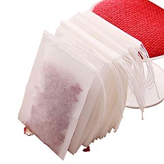 billige Krus/redskaber m.m. til kaffe og te-100pcs ikke-vævet stof teposer med snor si te infusionsenheden urte filter