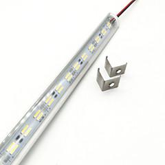 tanie Taśmy LED-ZDM® 144 Diody LED 1x Hard Light Strip Ciepła biel Zimna biel DC 12V