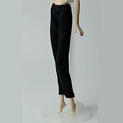 abordables Ropa para Barbies-Pantalones Pantalones, Pantalonetas y Licras por Muñeca Barbie  Negro Pantalones por Chica de muñeca de juguete