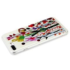Недорогие Кейсы для iPhone 6-Кейс для Назначение Apple iPhone 6 iPhone 7 С узором Кейс на заднюю панель Цветы Сияние и блеск Твердый ПК для iPhone 7 Plus iPhone 7