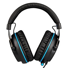 billige Hodetelefoner-SADES R3 Pannebånd Med ledning Hodetelefoner dynamisk Plast Gaming øretelefon Med volumkontroll Med mikrofon Headset