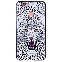 olcso Huawei tokok-Case Kompatibilitás Huawei Nova Minta Fekete tok Leopárd minta Állat Puha mert Nova