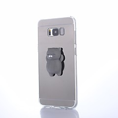 halpa Galaxy S6 Edge kotelot / kuoret-Etui Käyttötarkoitus Samsung Galaxy S8 Plus S8 DIY squishy Takakuori Eläin Kova Akryyli varten S8 Plus S8 S7 edge S7 S6 edge plus S6 edge