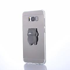 billige Galaxy S6 Edge Etuier-Etui Til Samsung Galaxy S8 Plus S8 squishy GDS Bagcover Dyr Hårdt Akryl for S8 Plus S8 S7 edge S7 S6 edge plus S6 edge S6 S5 S4 S3