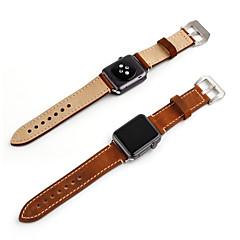 voordelige Apple Watch-bandjes-Horlogeband voor Apple Watch Series 3 / 2 / 1 Apple Polsband Moderne gesp Leer