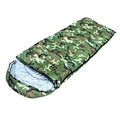 Schlafsack Rechteckiger Schlafsack warm halten Feuchtigkeitsundurchlässig Windundurchlässig Staubdicht Extraleicht(UL) 210cmX75cm Jagd
