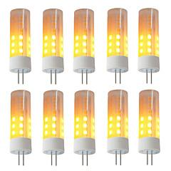 preiswerte LED-Birnen-BRELONG® 10 Stück 3W 230lm G4 LED Mais-Birnen 36 LED-Perlen SMD 2835 Flammeneffekt Warmes Weiß 12V