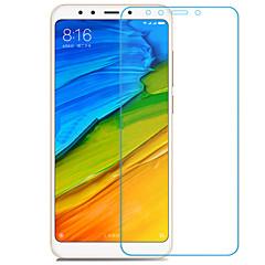 Недорогие Защитные плёнки для экранов Xiaomi-Защитная плёнка для экрана XIAOMI для Xiaomi Redmi 5 Plus Закаленное стекло 1 ед. Защитная пленка для экрана Защита от царапин