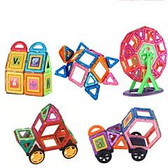 お買い得  積み木&ブロック-マグネットブロック おもちゃ 車載 車 ソフトプラスチック 151 小品