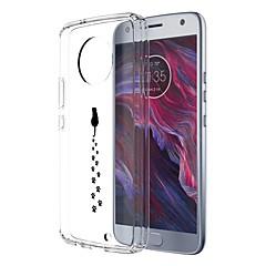 Недорогие Чехлы и кейсы для Motorola-Кейс для Назначение Motorola E4 Plus С узором Кейс на заднюю панель Кот Мягкий ТПУ для Moto X4 Moto E4 Plus Moto E4