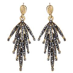 preiswerte Ohrringe-Damen Tropfen-Ohrringe - Blattform Retro, Europäisch, Modisch Silber / Bronze Für Normal