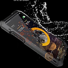 abordables Fundas para iPhone 6s Plus-Funda Para Apple iPhone X / iPhone 8 Agua / Polvo / prueba del choque Funda de Cuerpo Entero Armadura Dura Metal para iPhone X / iPhone 8 Plus / iPhone 8