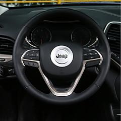 Недорогие Приборы для проекции на лобовое стекло-автомобильный Рамка для рулевого колеса Всё для оформления интерьера авто Назначение Jeep Cherokee Grand Cherokee