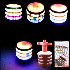 お買い得  ライトアップおもちゃ-LED照明 おもちゃ 円筒形 クラシックテーマ きらきら 会話 ソフトプラスチック 小品