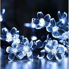 preiswerte LED Lichtstreifen-GMY® 50 LEDs 6M Lichterkette 1Set Montagehalterung Kühles Weiß Dekorativ <5V