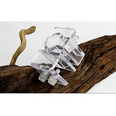 お買い得  アクアリウムデコレーション-アクアリウムの装飾 パイプクランプ チューブ/トンネル 簡単装着 デコレーション アクリル