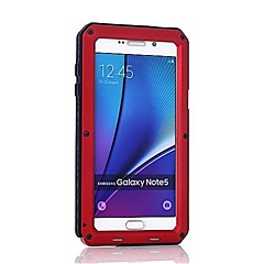 Недорогие Чехлы и кейсы для Galaxy Note 5-Кейс для Назначение SSamsung Galaxy Note 8 / Note 5 Защита от удара Чехол броня Твердый Металл для Note 8 / Note 5 / Note 4